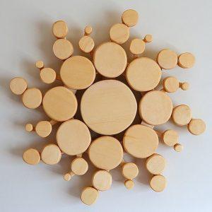 'Cosmic Snowflake' based on a crop circle design. Yellow cedar. #woodart #woodwork#woodworking #scrollsaw#intarsia #finewoodworking #craftsmen#wood #woodmagic #wallhanging #woodmandala #woodwhispering #art #handmade #handcrafted #psychedelic #plantmedicine #mandala #magic #customwood #cumberlandbc #vancouverisland #cropcircle #cropcircles