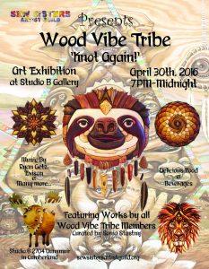 Wood Vibe Tribe Poster 2016 Final Jpeg